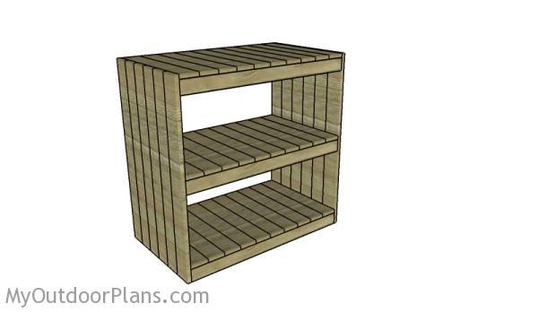 Storage Rack Plans