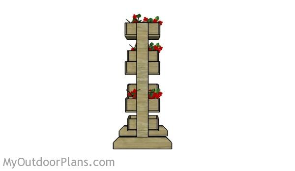 Tiered Planters Plans