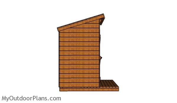 Wood outhouse plans