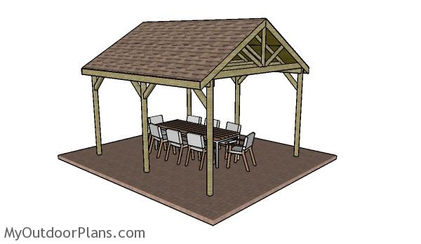 12x14 outdoor shelter plans myoutdoorplans free