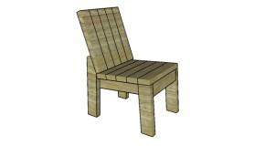 2×4 Chair Plans