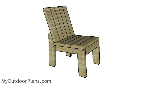 Outdoor Wood Chair Plans ~ Chair plans myoutdoorplans free woodworking