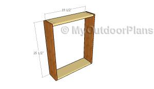 Assembling the frame for the bar
