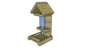Bottle Bird Feeder Plans