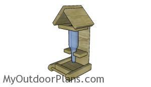 Bottle Bird Feeder Plans