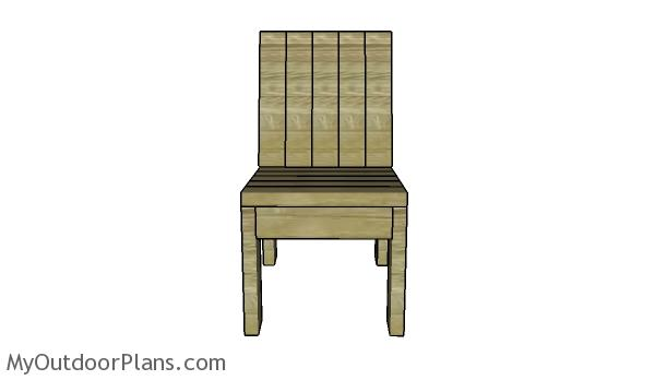 Build a 2x4 chair