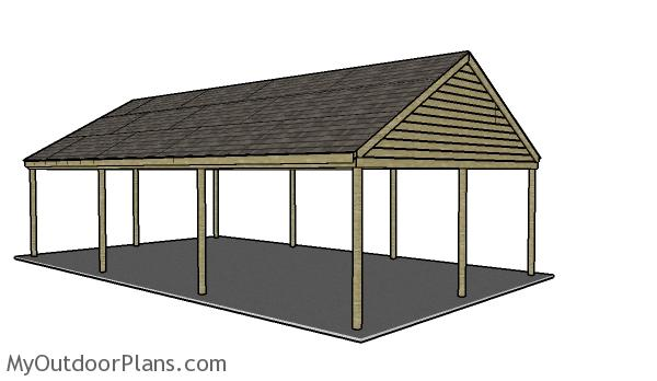 Build A 3 Car Carport