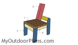 Building a 2x4 chair