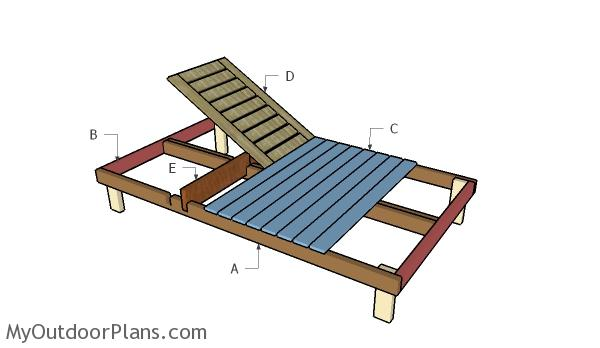 Double Chaise Lounge Plans. Building a double lounger  sc 1 st  MyOutdoorPlans : build a chaise lounge - Sectionals, Sofas & Couches