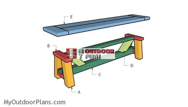 Building-a-farmhouse-bench
