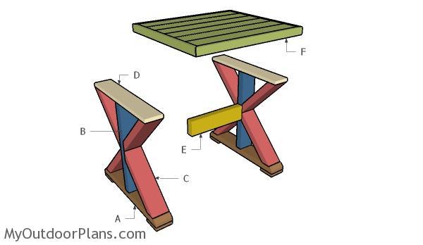 Building a farmhouse side table