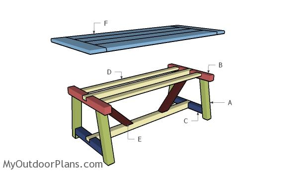 Building a farmhouse table