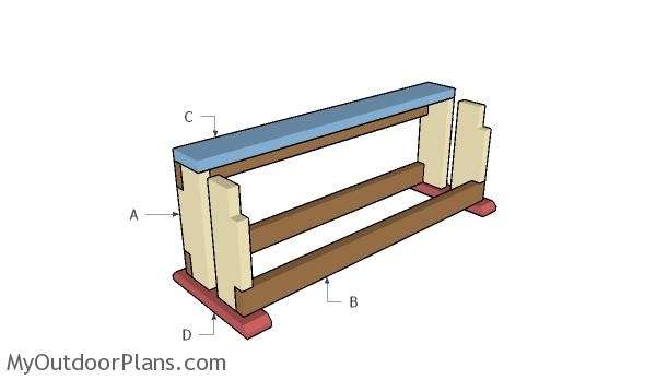 Building a saw bench