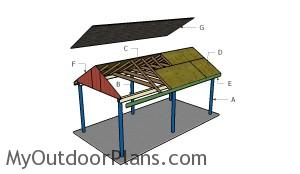Building a simple carport
