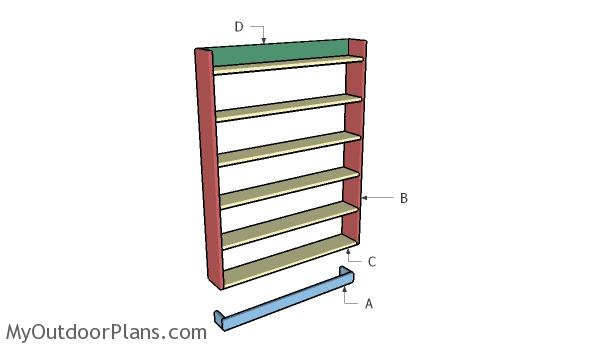 Building a simple dvd shelf