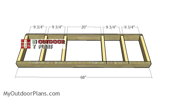 Building-the-frame-of-the-bench