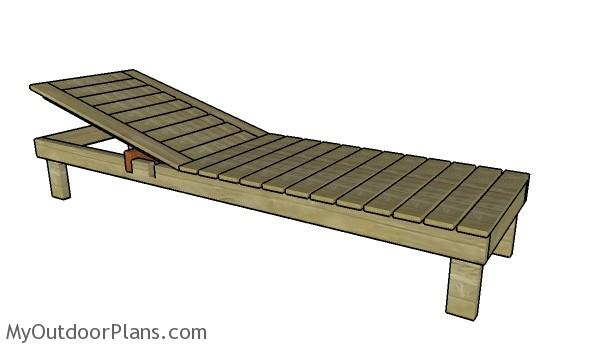 Chaise lounge plans myoutdoorplans free woodworking for Build a chaise lounge