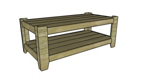 Contemporary Coffee Table Plans