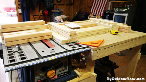 Cutting-the-components-for-the-bench