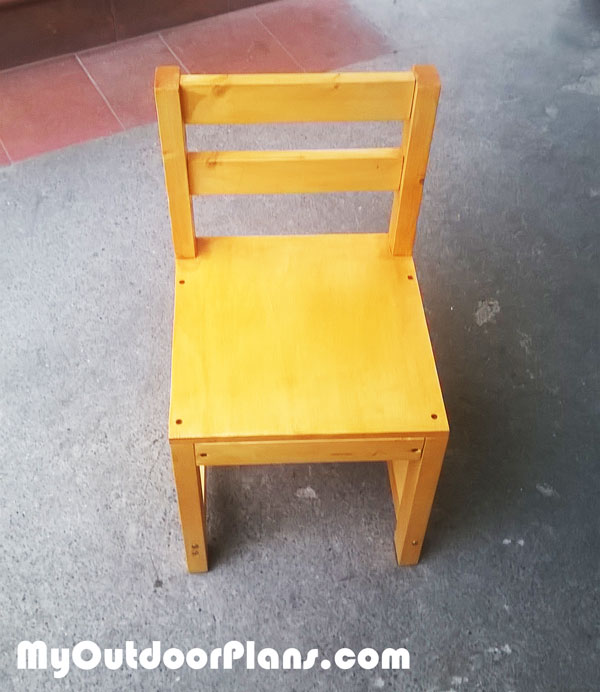 Diy Wood Kids Chair Myoutdoorplans Free Woodworking