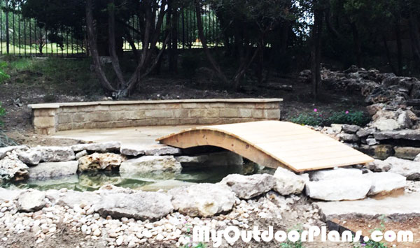 DIY Garden Bridge