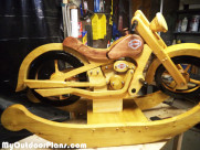 DIY Wood Harley Rocker
