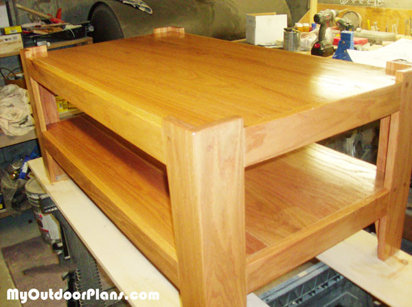 DIY Oak Coffee Table | MyOutdoorPlans | Free Woodworking Plans and Projects, DIY Shed, Wooden ...