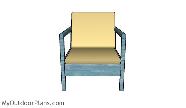 DIY Outdoor Chair Plans