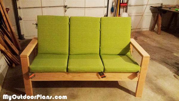 DIY Outdoor Sofa MyOutdoorPlans Free Woodworking Plans And Projects DIY