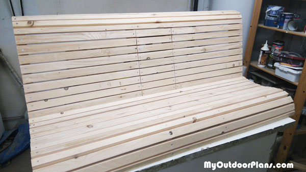DIY-Swing-Bench