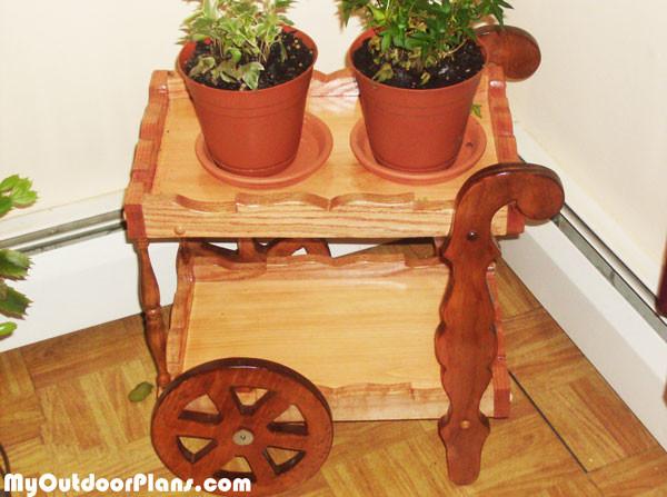 Diy Tea Cart Myoutdoorplans Free Woodworking Plans And