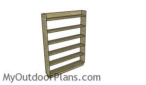 DVD Shelf Plans