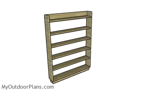 DVD Shelf Plans