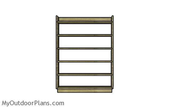 DVD Shelving Plans