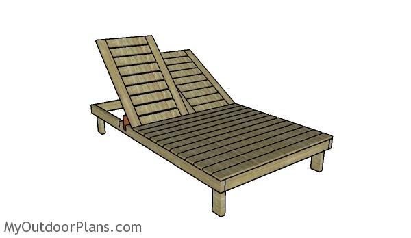 Double Lounger Plans