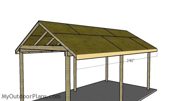Simple Carport Plans : Simple carport plans myoutdoorplans free woodworking