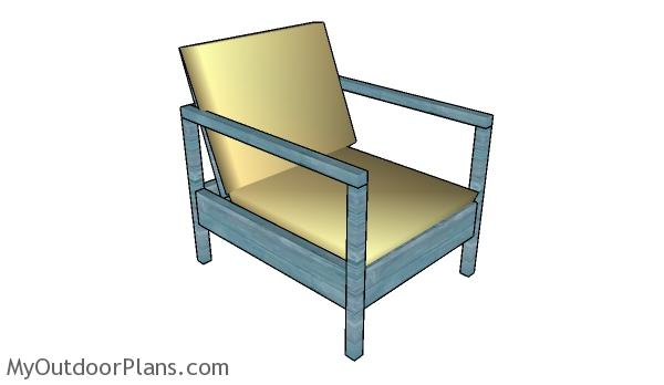Free Outdoor Chair Plans | MyOutdoorPlans | Free Woodworking Plans and ...