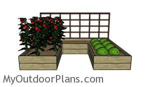 Free raised Garden Bed Plans