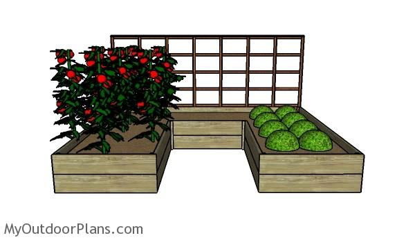 DIY Raised Garden Bed Plans | MyOutdoorPlans | Free ...