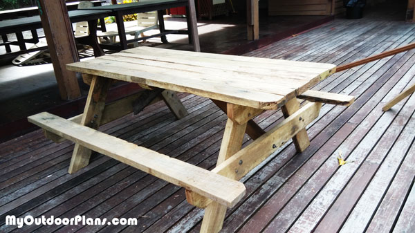 How-to-build-a-wood-picnic-table