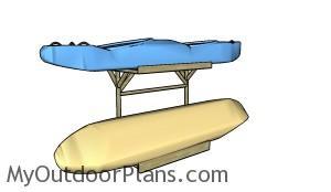 Kayak storage rack plans