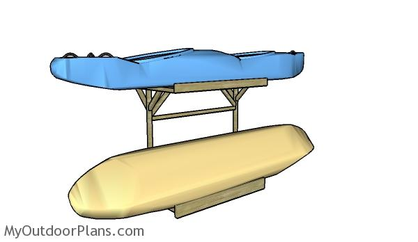 Kayak storage rack plans