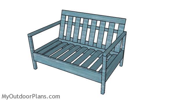 Love Seat Plans