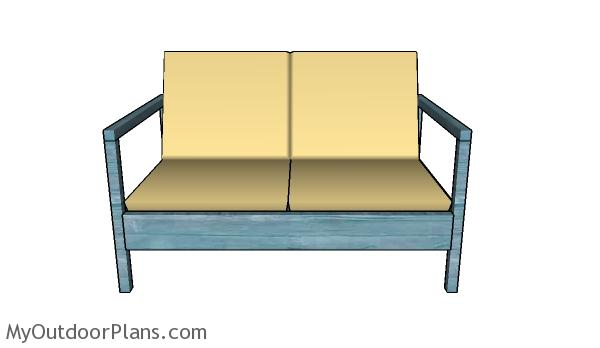 Loveseat Plans