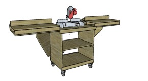 Miter Saw Stand Plans
