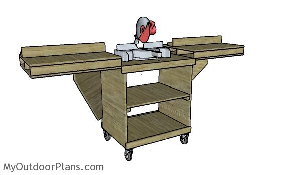Chop Saw Bench Plans 28 Images Az Diy Guy S Projects
