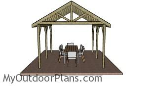 Outdoor Picnic Shelter Plans
