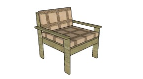 Outdoor Sectional – Chair Plans