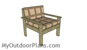 Outdoor sectional chair plans