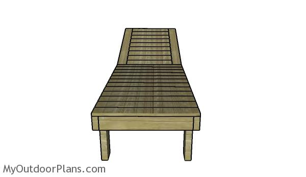 Pool chair plans